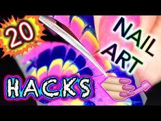 20 DIY Nail Art Hacks you NEED IN YOUR BRAIN! - YouTube