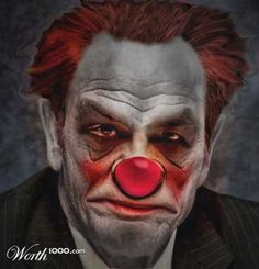 Evil Celebrity Clowns Gallery