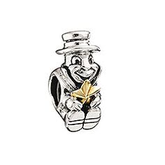 Material: Sterling Silver Receive a little help deciding between right and wrong with the Jiminy Cricket bead. It turns your glowing conscience into a glittering piece of fashion. © Disney $55.00 http://paradiseinternetmall.net/