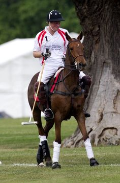 dad416c7e0de Handsome Prince Harry Gets Back Up on His Horse