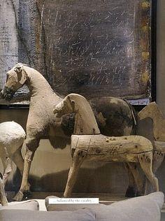 caballos de madera