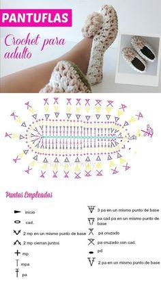 Learn To Crochet Cute Flower Slippers Flower Slippers Crochet Pattern Crochet Boots, Crochet Slippers, Crochet Clothes, Crochet Slipper Pattern, Crochet Patterns, Crochet Hook Case, Diy Crafts Crochet, Crochet Diagram, Knitting For Beginners
