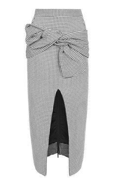 Daphne Knot Pencil Skirt by Maticevski for Preorder on Moda Operandi