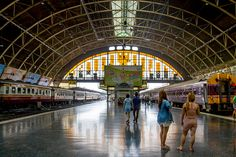 Gare des trains de Bangkok