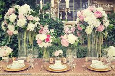 Style File: Pretty in Pink and Gold | WedLuxe Magazine