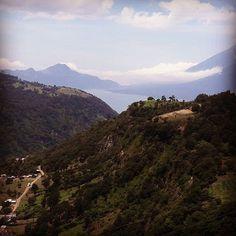Hiking in the mountains above Lake Atitlan Guatemala.  Seeyouinguatemala.  #hiking #mountainclimbing #mountains #climbing_is_my_passion #seeyouinguatemala #lakeatitlan #lakeatitlantours #antiguaguatemala #guatemala #vacation #travelblogger #paradise #picoftheday #centralamerica #vacation #hikers