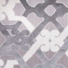 This is a heavy weight, synthetic blended chenille fabric with a geometric-like pattern.