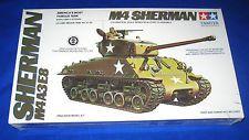 Tamiya U.S. Army WWII M4-A3-E8 Sherman Medium Tank Model Kit-NEW-1/35 Scale