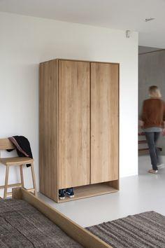 Handmade Furniture for the Home Oak Wardrobe, Wooden Wardrobe, Wardrobe Furniture, Deco Furniture, Furniture Design, Furniture Stores, Handmade Wood Furniture, Nordic Furniture, Modern Furniture