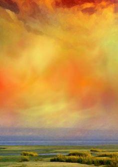 'Poesie des Lichts - Lichtspiel über dem Watt' von Eckhard Röder bei artflakes.com als Poster oder Kunstdruck $16.63 Poster, Painting, Art Print, Canvas, Photo Illustration, Painting Art, Paintings, Painted Canvas, Posters