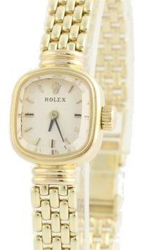 Rolex Ladies Wristwatch 7.25 - 14k Yellow Gold Ciner Link Band Womens Square. Get the lowest price on Rolex Ladies Wristwatch 7.25 - 14k Yellow Gold Ciner Link Band Womens Square and other fabulous designer clothing and accessories! Shop Tradesy now