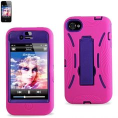 Two layers of advanced protection. The first layer is an impact resistant hard shell, and Layer 2 is a heavy-duty silicone skin cover that is an ideal fit on top of the impact resistant hard shell casing. Every button and port is easily accessible for pick & go lifestyle. There is a kick-stand that will allow any entertainer to watch any new movie or just to simply enjoy a fresh app or enjoy a book without having to hold your device…