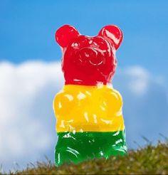 It's a giant gummy bear!!!!!