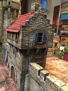 Arcadia Quest, Doll House Crafts, Game Terrain, Medieval Houses, Lego Castle, Wargaming Terrain, Miniature Houses, Tabletop Games, Figs