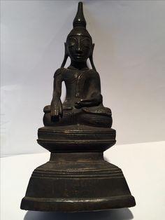 Shan bronze Buddha, Burma. 18th cent.