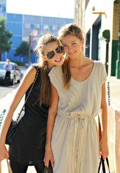 classyyylily:    Ella Kandyba and Kristina Romanova