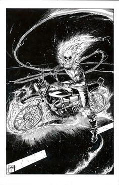Ghost Rider by Dan Mora *
