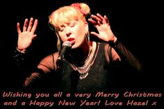Wishing you all a very Merry Christmas and a Happy New Year! love Hazel x