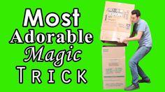 MOST ADORABLE MAGIC TRICK!!!