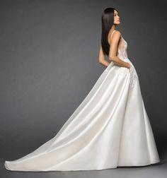 Lazaro Style 3861 Rufina Bridal Gown Back