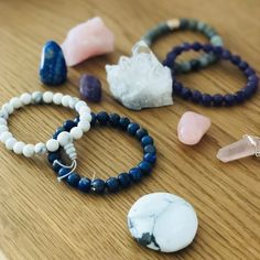 Mes 5 pierres indispensables Blog Qigong, Beaded Bracelets, Beads, Yoga, Chakras, Jewelry, Reiki, Moment, Ayurveda