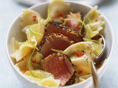 Farfalle met oosterse tonijn