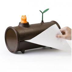 リスが紙の残りを教えてくれる「QUALY Log'n Roll」001