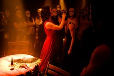 """Sleep No More: """"Theater, interactive improvisation, modern dance, and an extraordinary, beautiful set that's unlike anything you've ever seen."""" -- A truly unique experience!"""