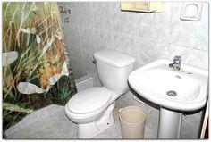 Detalle  del baño de la 2ª habitación.