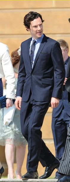 Benedict Cumberbatch // Buckingham Palace--This man is just...I just can't....
