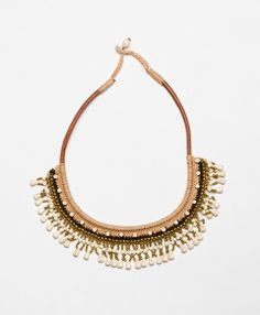 Dangling Shells Necklace - perfect to go with my little black dress.