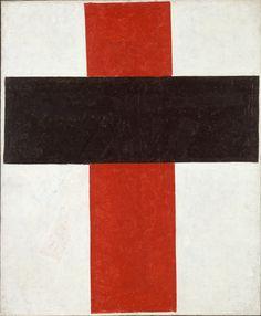 Kazimir-Malevich,-Hieratic-Suprematist-Cross
