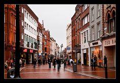 Grafton Street - Dublin, Republic of Ireland