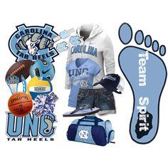 Outfit -- University of North Carolina Tar Heels Training Equipment 00f8efa9e