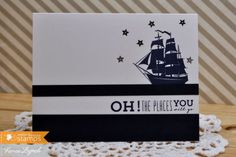 Nautical stamp, Ocean Bound from Waltzingmouse stamps – Waltzingmouse Stamps