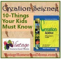 10 Things Your Child Must Know About the Origins Debate #homeschool #creation #hsradio