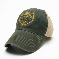 The Baylor Growling Bear Vintage Trucker Hat from BailesBrothersClothiers.com.  $24.71.  Click for more info!