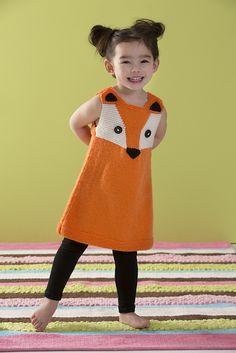 Ravelry: Child's Foxy Tunic pattern by Heather Lodinsky