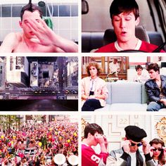 Ferris Bueller's Day Off Save Ferris, Ferris Bueller, Happy Song, The Right Man, Fade To Black, Great Films, Day Off, Movies And Tv Shows, Falling In Love