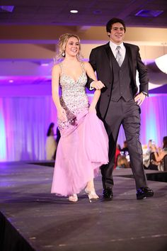 St. Francis Fashion Show #prom2015 #promdress #makeup #hairstyle #xentrik #prom