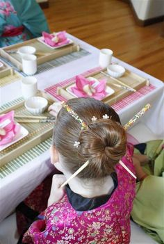 A Japanese Tea Party Birthday Party Ideas   Photo 2 of 13   Catch My Party