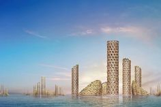 Vertical city for 25,000 people proposed for Dubai - Architectural Digest Middle East