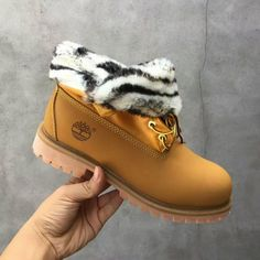 ff664aac18ab Wheat Timberland Roll Top Boots Like A Fox in Winter For Men