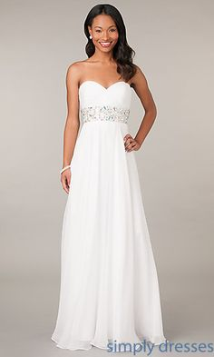 Strapless Pageant Gown by Alyce at SimplyDresses.com
