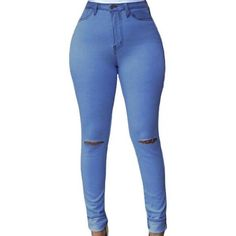 Jeans Light Wash Ripped Skinny ($22) ❤ liked on Polyvore featuring jeans, petite jeans, distressed jeans, skinny leg jeans, skinny fit jeans and destructed skinny jeans
