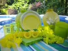 Pick a theme for your adult pool party like a Hawaiian Lua or Beach Party.
