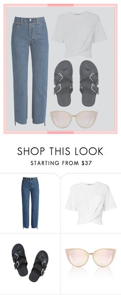 """im back! ♥"" by dafnaschuster ❤ liked on Polyvore featuring Vetements and T By Alexander Wang"