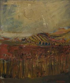 Joan Eardley  Cornfields, September