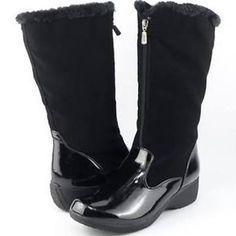 black snow boots women's - Google Search