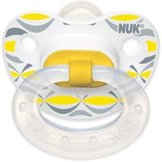The NUK Silicone Orthodontic Pacifier, Choose Your Color - Walmart.com